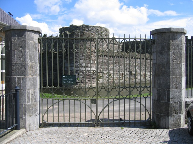 Beaumaris Castle from Castle Street