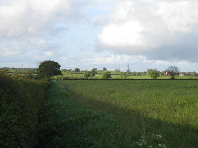 Footpath near Steeple Claydon