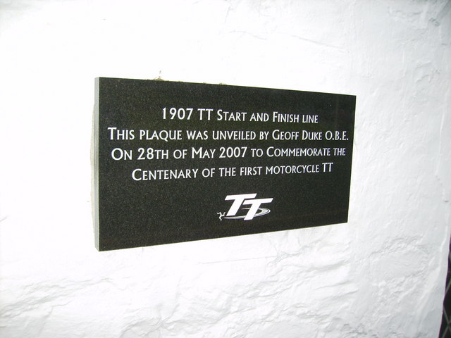 Centenary Plaque of the TT Races