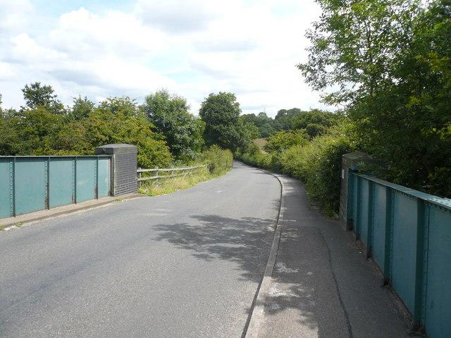 Danesmoor - Pilsley Road view towards Hagg Hill
