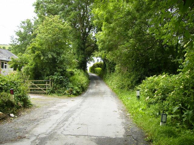 Lane at Greeba