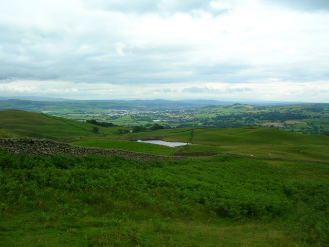 Looking down to Potter Tarn
