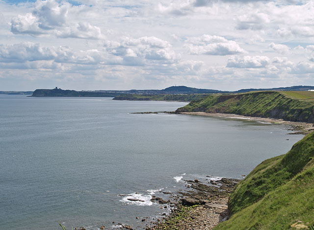 View from cliffs south of Long Nab