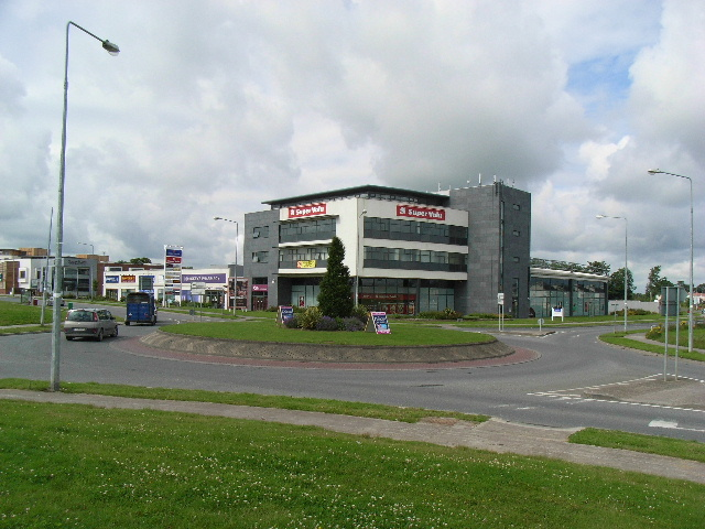 Roundabout at Johnstown Shopping Centre