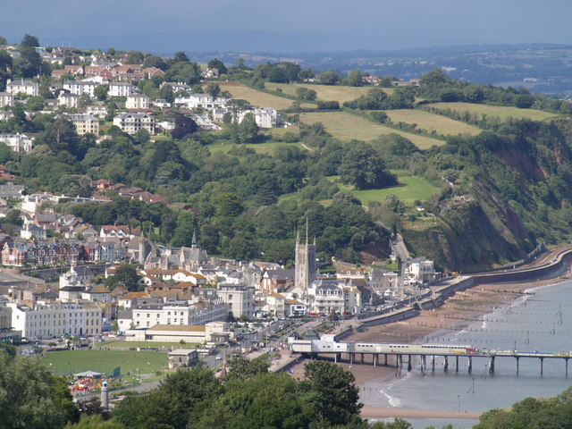 Teignmouth from the coast path