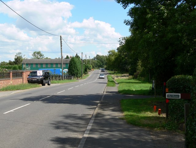 Leicester Lane between Desford and Enderby