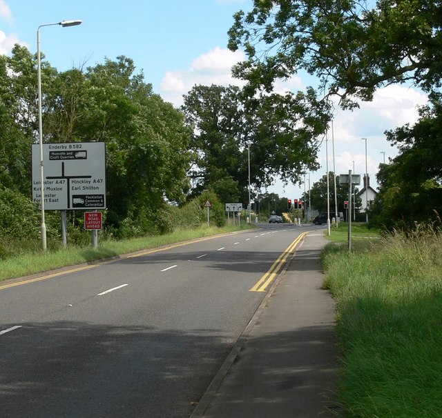 A47 road junction