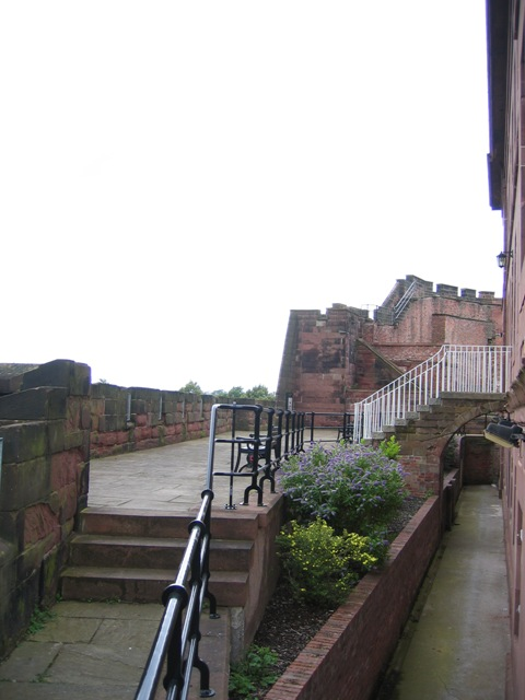 Chester Castle Ramparts