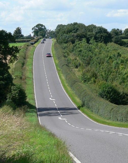 The B582 Desford Road