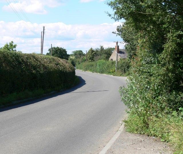 Beggars Lane near Enderby