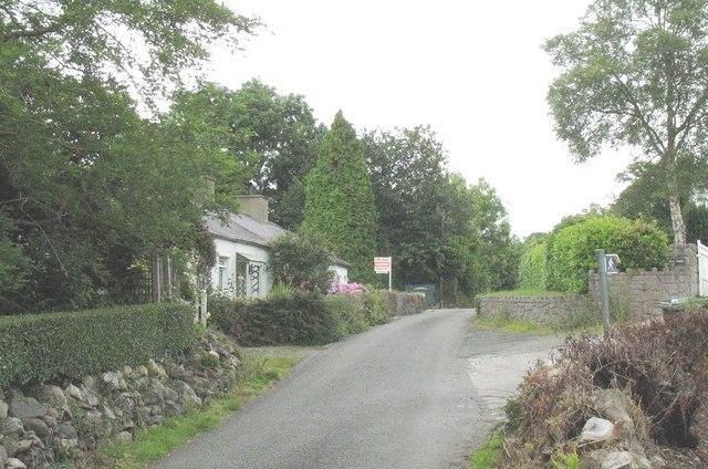 Cottages near Hafod-Haf