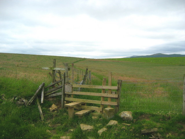 Pennine Way near Scaleber Hill