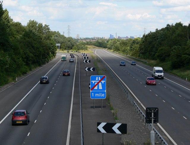 M69 Motorway