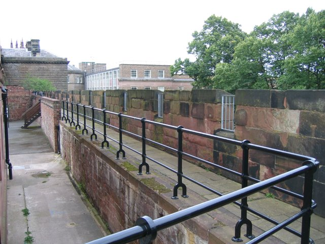 Ramparts of Chester Castle
