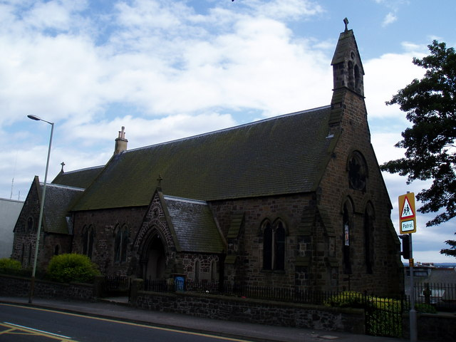 St Mary's Episcopal Church, Broughty Ferry.