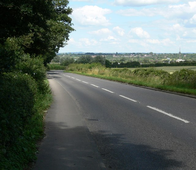 Leicester Lane near Enderby