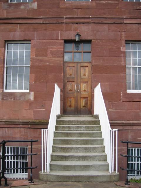 The Front Door of Napier House
