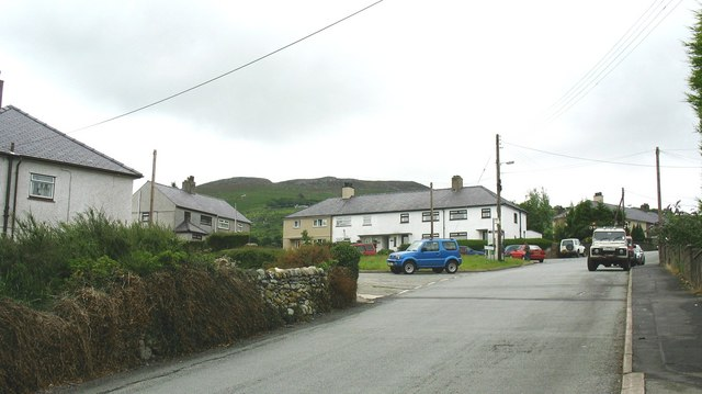 Local Authority Houses, Rhiwlas