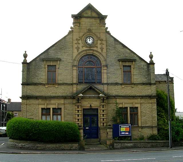Temperance Hall - Smithies Lane, Birstall