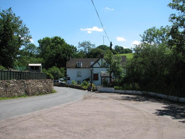 The Fountain Inn from the car park