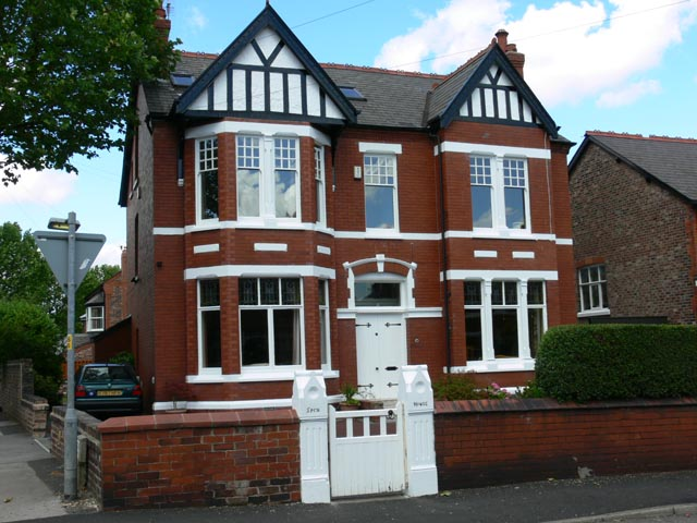 Spen House - one of Stockton Heath's Edwardian Villas