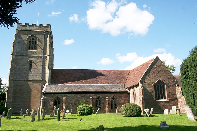 Powick Church from the South