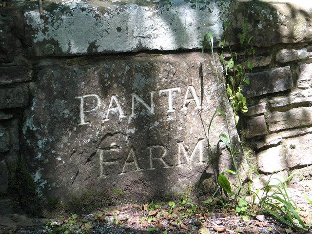 Panta Farm sign