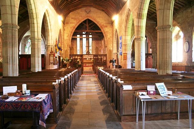 Powick Church Interior