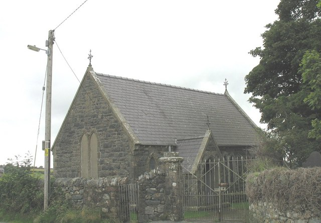 Mortuary Chapel at St Cedol Church, Pentir