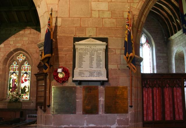 Powick Church War Memorial