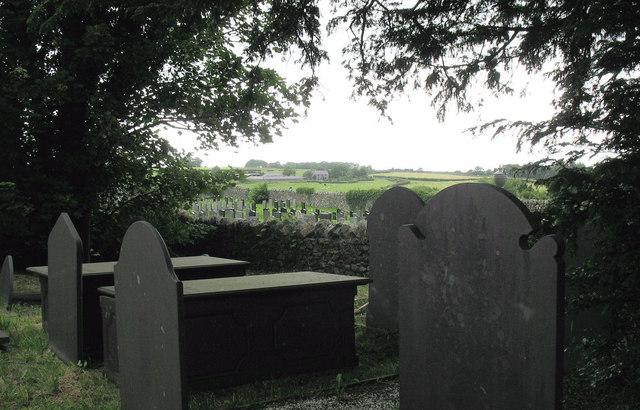 Claddfa Cedol Sant Cemetery