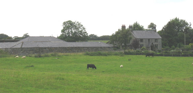 Niwbwrch - Farmhouse and farm buildings