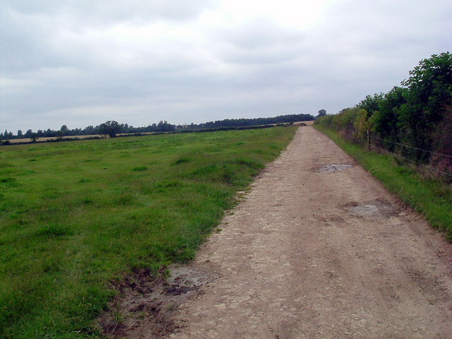 Track to Oundle wood