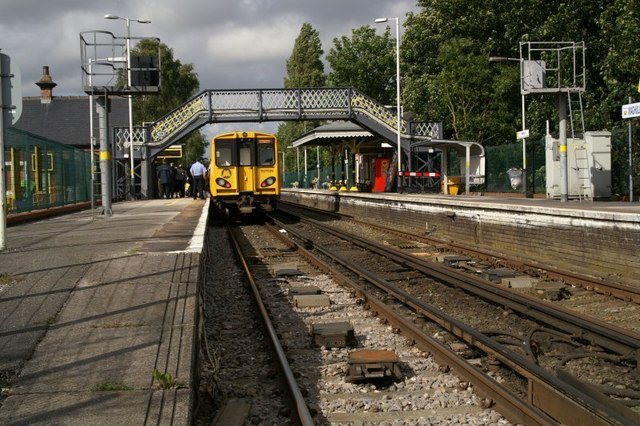Maghull Railway Station