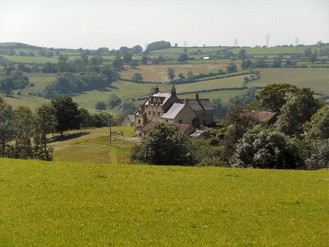 Lodge Farm from the Batcombe road.