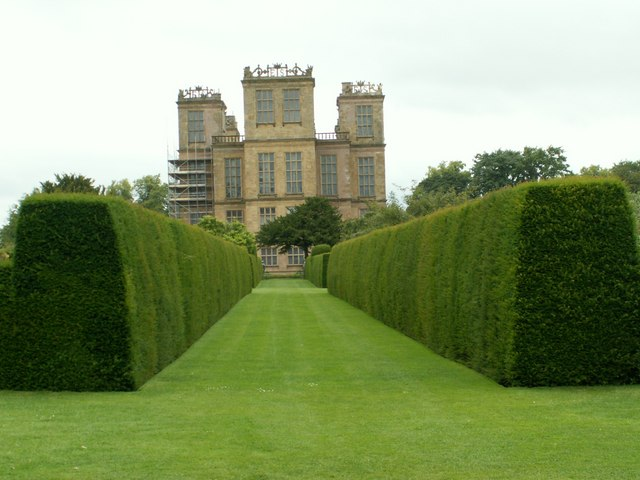 The Southside of Hardwick Hall
