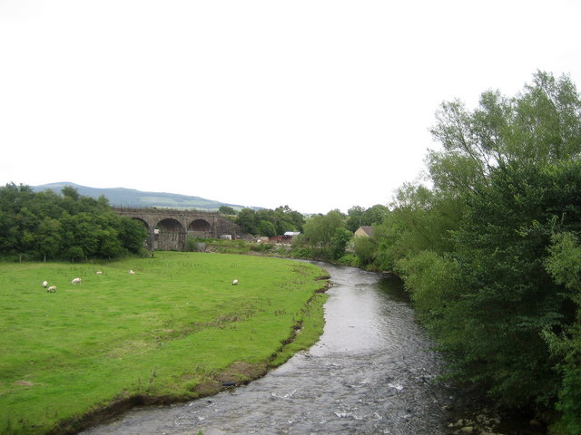 River Aire from Canal Aqueduct