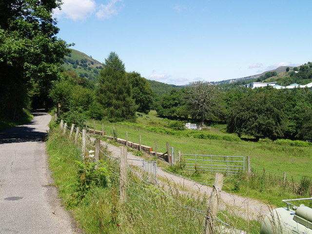 View from Old Blaina Road