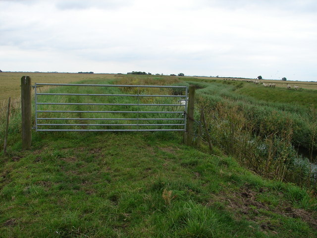 Gate on Public Footpath