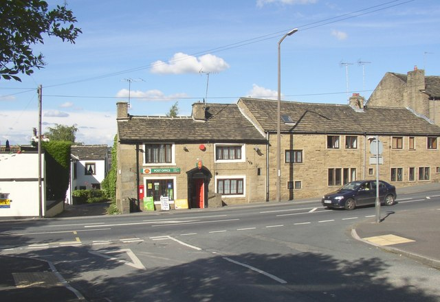 Hove Edge Post Office, Halifax Road, Brighouse