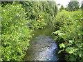 SU9087 : River Wye at Wooburn by Nigel Cox