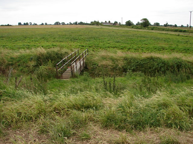 Footbridge (2) near Head Dike