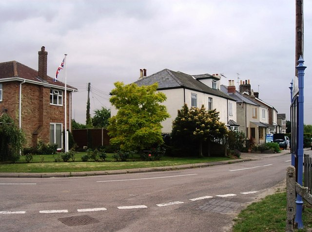 Station Road, Wrabness