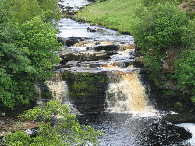 Crammel Linn on the River Irthing