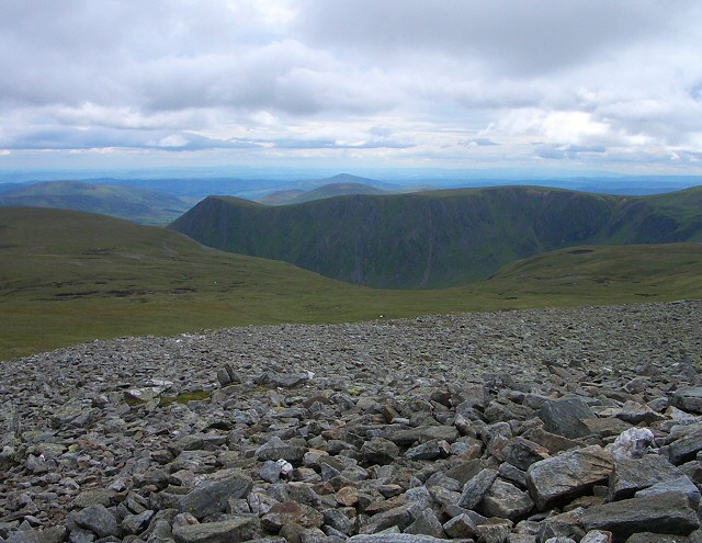South from Cairn of Claise
