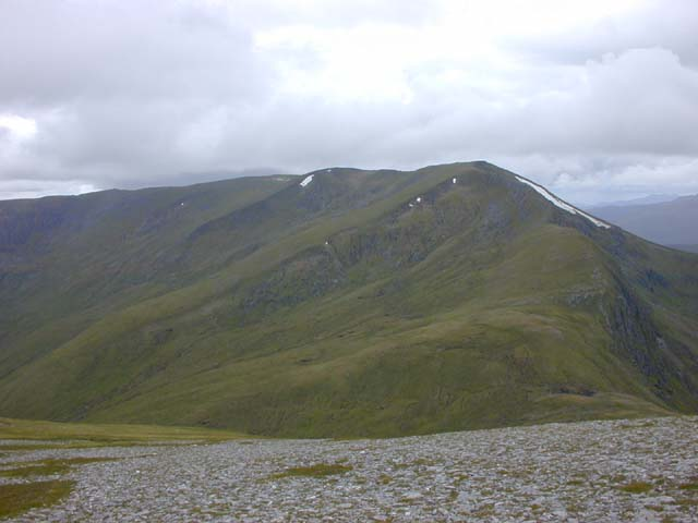 The western slopes of Sgùrr nan Clachan Geala