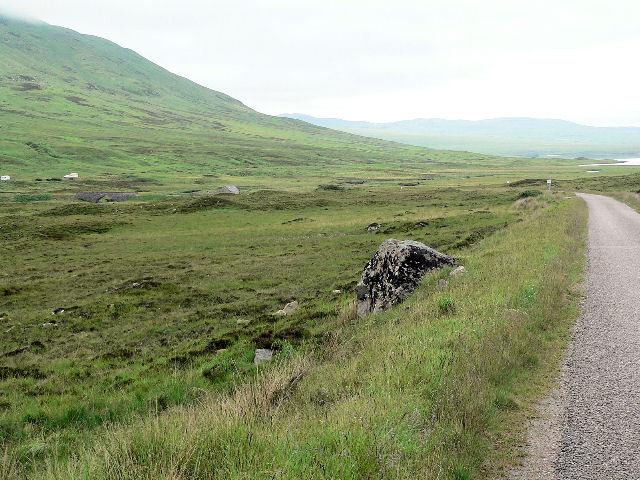 Road north towards Inchkinloch
