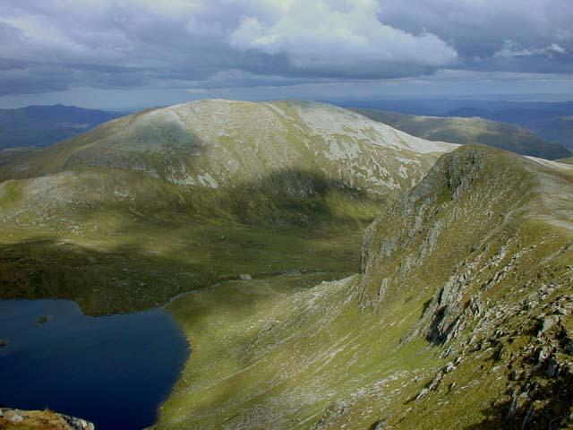 View east along Braigh a' Choire Bhig