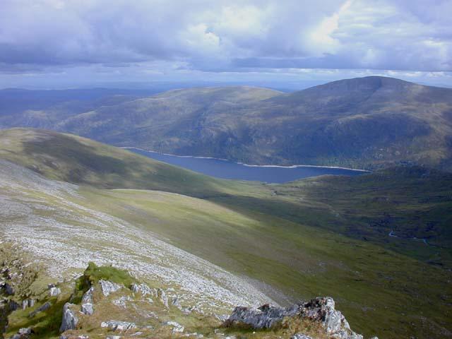 South east ridge of Braigh a' Choire Bhig