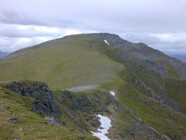 The summit of Sgùrr na Lapaich